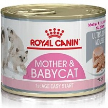 картинка Royal Canin мусс для котят до 4 мес., Mother & Babycat Ultra Soft Mousse от магазина KupiZOO.ru